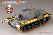 1/35 Modern US M48A3B Basic (Gun Barrel, machine gun included) (for Dragon 3546)