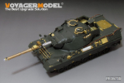 1/35 Modern German Leopard1A5 MBT (Gun barrel ,smoke discharger,atenna base include) (For MENG TS-015)