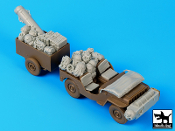 1/35 British para Jeep before drop accessories set