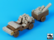 1/35 British para Jeep after drop accessories set