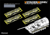 1/35 Modern German PzH2000 Side skirts (For MENG)