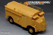 "1/35 WWII British AEC 4x4 Armored Command Vehicle""Dorchester"""
