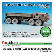 "1/35 M977 HEMTT Micherin ""XZL"" Sagged Wheel set (for Italeri)"