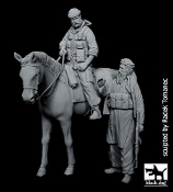1/35 US SPecial Forces on horse & Afghanistan fighter