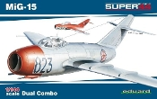 MiG15 Fighter Dual Combo (Ltd Edition Plastic Kit)