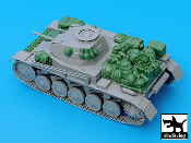 1/35 Pz.Kpfw. II Ausf C accessories set