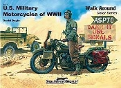 US Military Motorcycles of WWII Walk Around