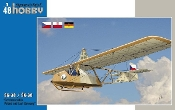 SG38 Schulgleiter/SK38 Komar Glider Czechoslovakia, Poland & E. Germany Markings