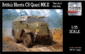 British Morris C8 Quad Mk III Beetle-Back Body Early Artillery Tractor
