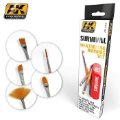 Survival Weathering Brushes Set (5 different)