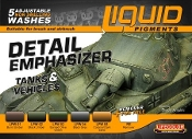 Detail Enhancer Tanks & Vehicles Liquid Pigments Set