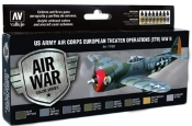 US Army Air Corps European Theater Operations (ETO) WWII Model Air Paint Set
