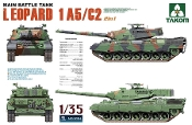 Main Battle Tank Leopard 1 A5/C2 2n'1