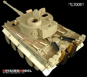 1/35 Tiger I Initial Production Africa Troop (For TAMIYA 35227 )