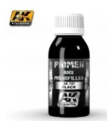 Black Primer & Microfiller 100ml Bottle