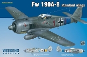 Fw190A8 Standard Wings Fighter (Wkd Edition Plastic Kit)