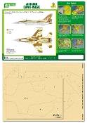 1/48 Airbrush CAMO-MASK for 1/48 IDF F-16C Camouflage Scheme