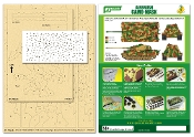 Airbrush CAMO-MASK for 1/35 King Tiger (Henschel Turret) Camouflage Scheme 1