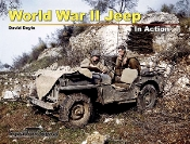 World War II Jeep In Action