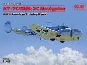 WWII AT7C/SNB2C Navigator American Training Aircraft