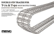 DOUBLE-PIN TRACKS FOR T-72 & T-90 MAIN BATTLE TANKS 1/35