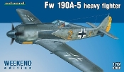 Fw190A5 Heavy Fighter (Wkd Edition Plastic Kit)