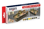 WWII Imperial Japanese Army AFV 1937-1945 Paint Set (8 Colors) 17ml Bottles