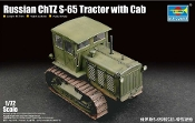 Russian ChTZ S-65 Tractor with Cab