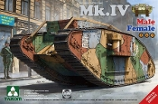 MK.IV Male/Female WWI Heavy Battle Tank
