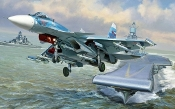 Russian Sukhoi Su33 Flanker D Naval Fighter