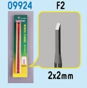 Model Micro Chisel: 2mm x 2mm Square Tip