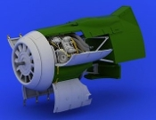 1/32 Aircraft- Fw190F8 Engine for RVL (Photo-Etch & Resin)
