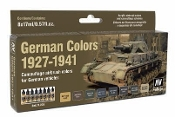 17ml Bottle German Vehicle Camouflage Colors 1927-1941 Model Air Paint Set (8 Colors)