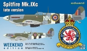 Spitfire Mk IXc Late Version Fighter (Wkd Edition Plastic Kit)