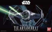 Star Wars A New Hope: Darth Vader's Tie Advanced x1 Starfighter