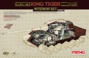 1/35 Sd.kfz.182 King Tiger (Henschel Turret) Interior Set