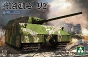 WWII German Super Heavy Tank Maus V2
