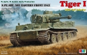 Tiger I PzKpfw VI Ausf E Early Production sPzAbt 503 Tank Eastern Front 1943 w/Full Interior