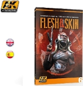 Flesh & Skin Techniques for Painting Miniatures Book