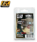 Air Series: WWI RFC & RNAS Aircraft Colors Acrylic Paint Set (4 Colors) 17ml Bottles