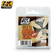 Air Series: WWI Planes Clear Doped Linen Acrylic Paint Set (3 Colors) 17ml Bottles