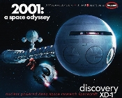 "2001 Space Odyssey: Discovery XD1 Nuclear Powered Deep Space Research Spacecraft (41"" Long)"