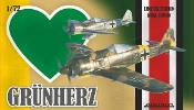 WWII Fw190A5/A8 Grun Herz German Fighter Dual Combo (Ltd Edition Plastic Kit)