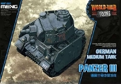 German Medium Tank Panzer III 'World War Toons'