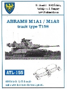 1/35 Abrams M1A1/M1A2 Type T158 Track Set (160 Links)