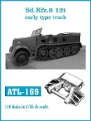 1/35 SdKfz 8 12t Early Track Set (110 Links)