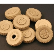1/35 Road Wheels for M1070 Truck Tractor