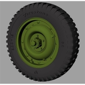 "1/35 Willys MB ""Jeep"" Road wheels (Firestone)"