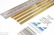 Brass Strip 12 x 0.4 mm BS2M