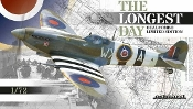 Spitfire IXc British WWII Fighter The Longest Day Dual Combo (Ltd Edition Plastic Kit)